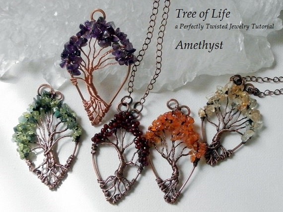 Wire wrap tutorial tree of life pendant learn how to wire wire wrap tutorial tree of life pendant learn how to wire wrap diy wire wrap tree tutorial how to wire wrap perfectly twisted jewelry mozeypictures Choice Image