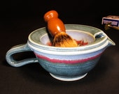 Lather Bowl - Shave Mug 33% Off - Lather Scuttle - Scuttle for Shaving - Lathering Scuttle - Shaving Scuttle - In Stock