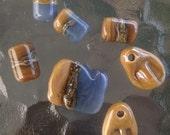 Handmade Lampwork Glass Bead Set