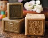 Olive Oil Soap Marseille Soap, Savon de Marseille Felting Hipoalergenic Vegan Soap - LARGE SIZE - 600 grams - 21 oz - 1.3 lb