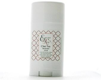 Chai Tea Natural Deodorant 2.5 ounces