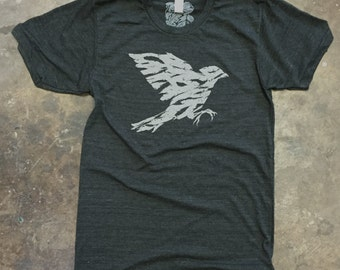 Wind | Charcoal Black Tri Blend Tee