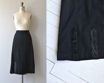 Edwardian Walking Skirt | vintage Edwardian skirt | antique 1910s skirt