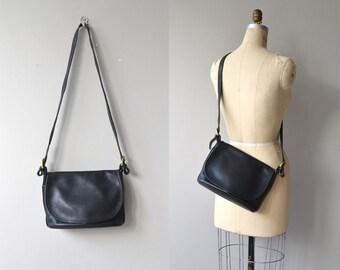 Coach 'Fletcher' bag | vintage black Coach purse | cross body Coach bag