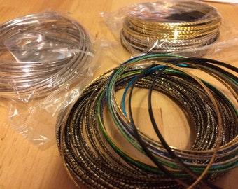 New bangles bracelets over 80
