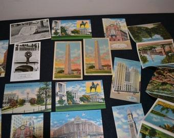 Massachusetts Americana  Postcards Pack of 20
