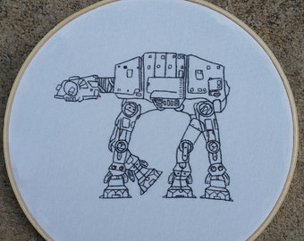 Imperial Walker AT-AT hoop art