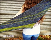 The Road Ahead Knitted Shawl Pattern Instant Download
