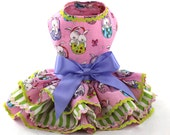 Easter Bunnies in Baskets dog dresses