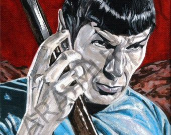 Spock - Amok Time print