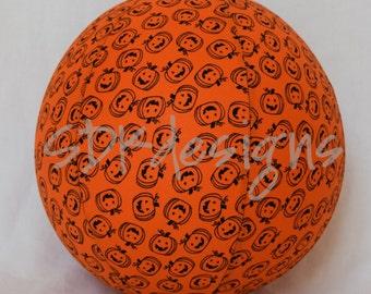 Balloon Ball TOY - Bright Orange JackOLantern Pumpkins - perfect Halloween gift or Party Decor