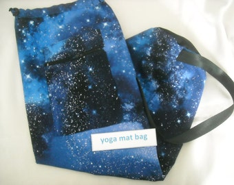 SALE Yoga/Pilates Mat Bag-Starry Night