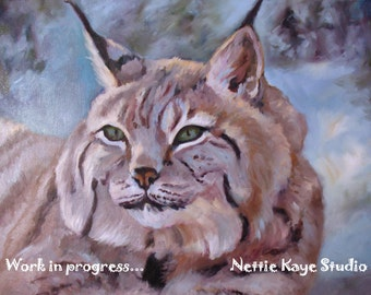 CUSTOM ANIMAL PAINTINGS Oil on canvas  24 x 36 up to 30 x 40