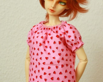 BJD Peasant Blouse for SD Girls Top 21003