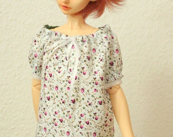 BJD Peasant Blouse for SD Girls Top 21004