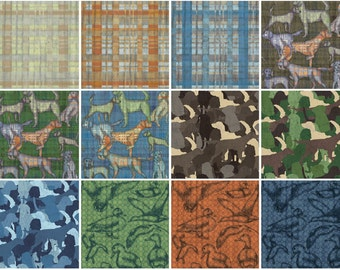 Hunt Club from Clothworks jelly roll strips