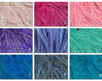 "125 Organza Ribbon Cord Necklaces 18"" Length, You Pick your Colors"