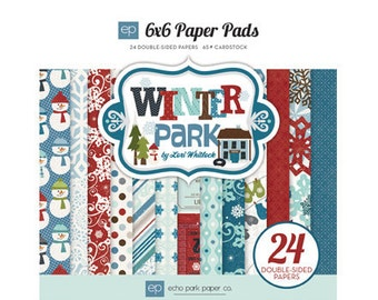 Echo Park 6x6 Paper Pad - Winter Park