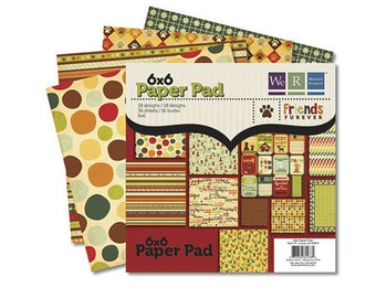 We R Memory Keepers 6x6 Paper Pad - Friends Furever
