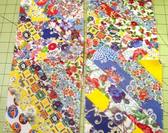 Vintage Feedsack Fabrics, Feed Sack Fabrics,  Scrap Quilt Blocks,  Patchwork Quilt Blocks,   Special, old fabrics