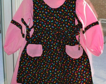 T2 Pinafore Dress Polkadots for 2 year old