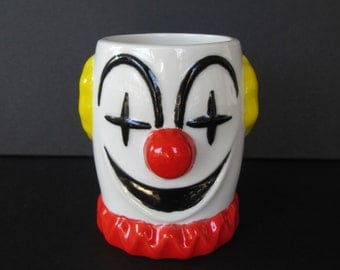 Childs Handled Clown Mug