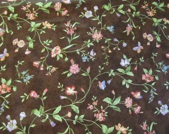 """Free Shipping! """"Wildflower Rhapsody"""" by Wing and a Prayer Design for Timeless Treasures 1/2 Yard. 16025"""