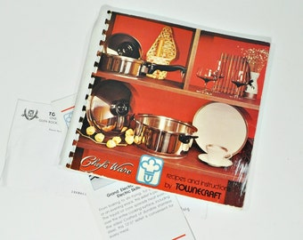 Chef's Ware Recipes and Instructions by Towncraft