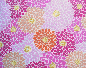 SALE - Pink Floral, Fabric Traditions, 100% Cotton Quilt Fabric, Quilting Fabric
