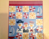 Smooth Sailing quilt pattern by Quilt Soup