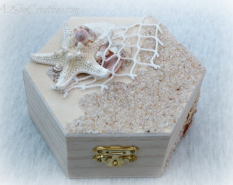 Nautical, Silk-Lined Gift Box or Ring Holder