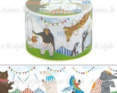 Aimez le Style Washi Masking Tape - Animal Circus