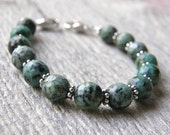RESERVED FOR MORNINGSTAR2 - African Turquoise Medical ID Bracelet