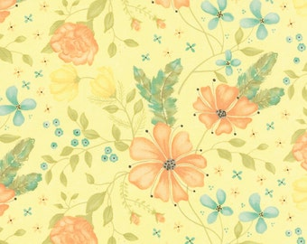 Yellow Main Refresh Fabric - Sandy Gervais - Moda - 17860 15