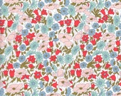 Liberty Fabric Poppy and Daisy A Tana Lawn Fat Quarter Bright Floral