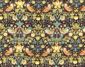 Liberty Fabric Strawberry Thief F Tana Lawn Fat Quarter Floral Birds William Morris