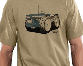 Classic Tractors County Super 6  Design T-shirt