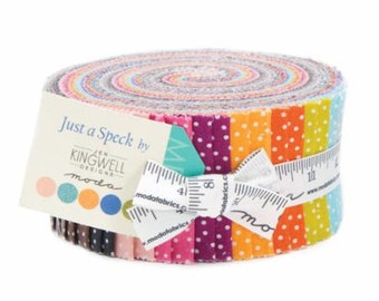 YEAR END SALE - Just a Speck - Jelly Roll - Jen Kingwell - Moda Fabric -