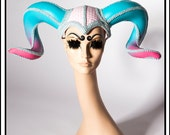 Baby Ram… Horns In Pink and Blue Headdress