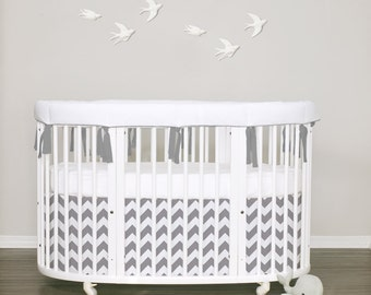 Stokke Sleepi bedding-  Pure white - choose your items / choose your piping & ties 32 colors
