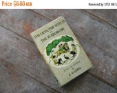ON SALE Miniature Book --- Lion, Witch, and the Wardrobe