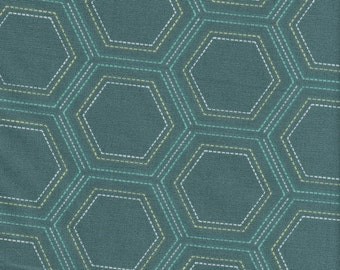 Art Gallery Fabrics - Stitched Heritage Shadow - Fabric 1 yard off of bolt (more available)