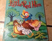 1953 Little Red Hen Children's Book by Whitman