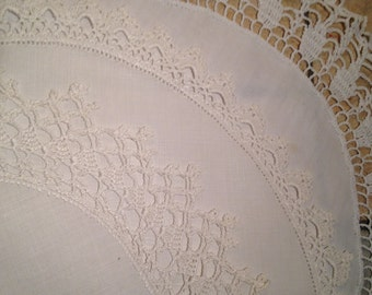 Three Round Doilies