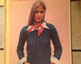 1975 Make It Yourself; a Complete Step-By-Step Library of Needlework and Crafts Pattern Book