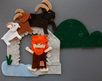 The Three Billy Goats Gruff Felt Set