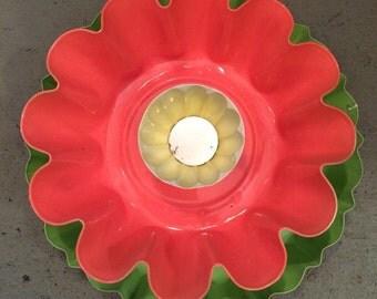 Garden Art metal flower