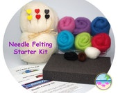 Dream Felt's Beginner Needle Felting Kit - Great Starter Kit!