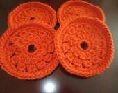 Practical Beautiful Crochet Of 4 Thanksgiving Coaster