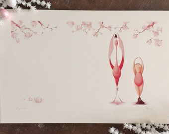 Flora and the Flamingo- Plies- Limited Edition Signed Print